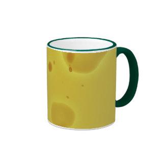 SWISS CHEESE RINGER COFFEE MUG