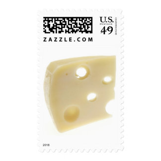 Swiss Cheese Postage Stamps