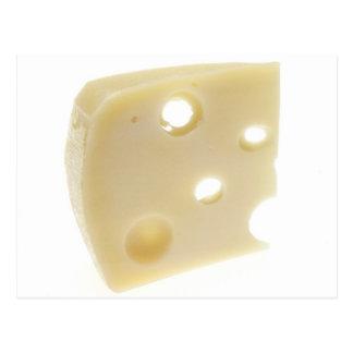 Swiss Cheese Postcard