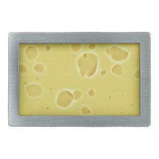 Swiss Cheese Rectangular Belt Buckle