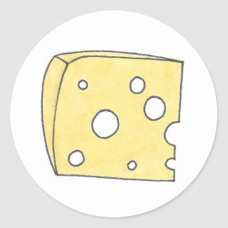 Swiss Cheese Stickers