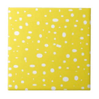 Swiss Cheese Yellow Tiles