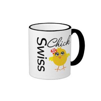 Swiss Chick Coffee Mug