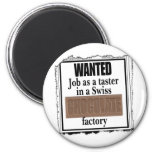 Swiss Chocolate Magnet