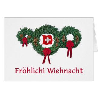 Swiss Christmas 2 Greeting Card