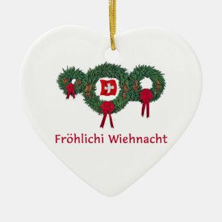 Swiss Christmas 2 Christmas Ornaments