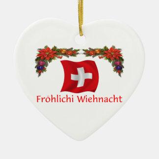 Swiss Christmas Ornament