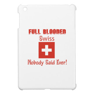 Swiss citizen  design iPad mini covers