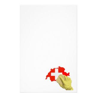 Swiss clean, clean Switzerland Stationery