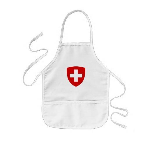 Swiss coat of arms - Swiss Souvenir Aprons