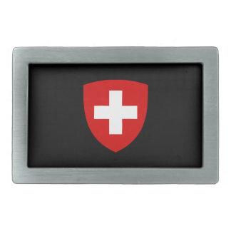 Swiss coat of arms - Swiss Souvenir Rectangular Belt Buckle