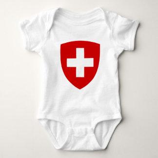 Swiss coat of arms - Swiss Souvenir Infant Creeper