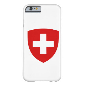 Swiss Coat of Arms - Switzerland Souvenir Barely There iPhone 6 Case