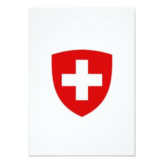Swiss Coat of Arms - Switzerland Souvenir Card