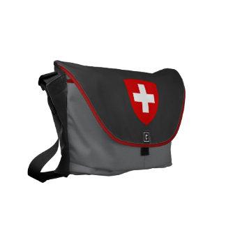 Swiss Coat of Arms - Switzerland Souvenir Courier Bag