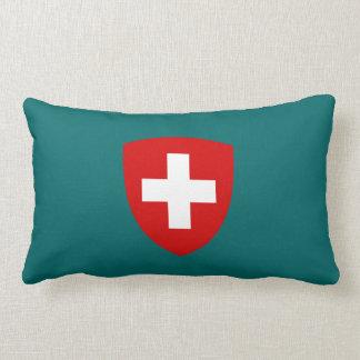 Swiss Coat of Arms - Switzerland Souvenir Throw Pillows