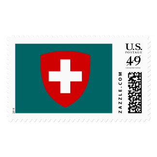 Swiss Coat of Arms - Switzerland Souvenir Stamp