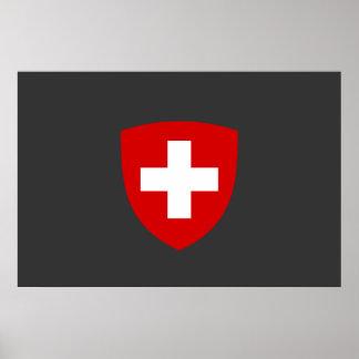 Swiss Coat of Arms - Switzerland Souvenir Poster