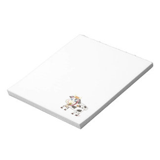 Swiss cow notepad