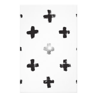 Swiss Cross Pattern Stationery