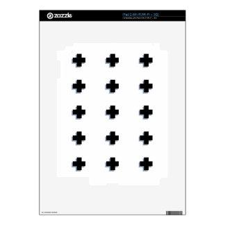 Swiss Crosses Modern Scandinavian Design iPad 2 Skins