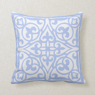 Pale Blue Throw Pillow : Pale Blue Dot Pillows - Decorative & Throw Pillows Zazzle