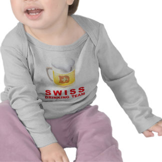 Swiss Drinking Team Tee Shirt