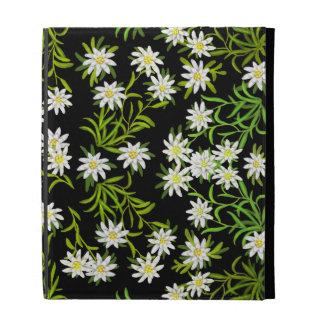 Swiss Edelweiss Alpine Flowers iPad Case