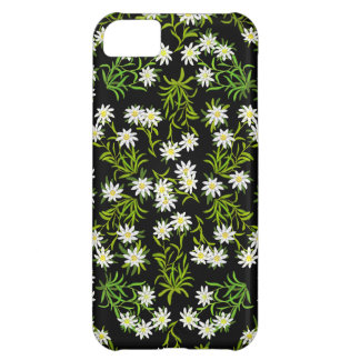 Swiss Edelweiss Alpine Flowers iPhone Case iPhone 5C Cases