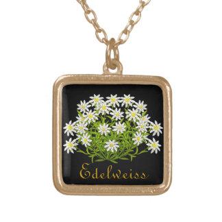 Swiss Edelweiss Alpine Flowers Necklace