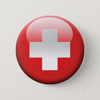 Swiss Flag 2.0 Button