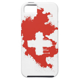 Swiss Flag iPhone 5 Cover
