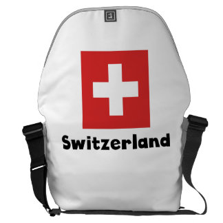 Swiss Flag Courier Bag