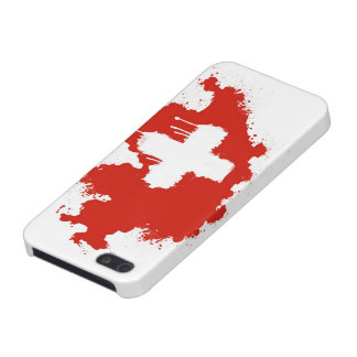 Swiss Flag Cover For iPhone SE/5/5s