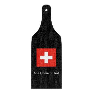 Swiss Flag Cutting Board