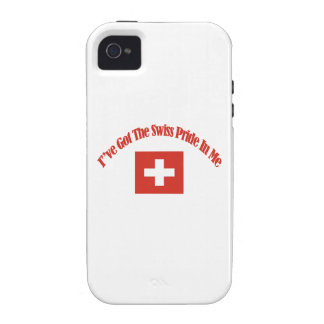 swiss flag designs Case-Mate iPhone 4 cases
