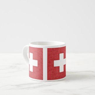 Swiss flag Espresso mug