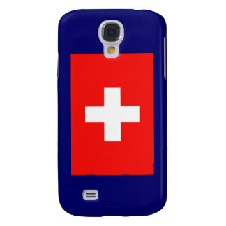 Swiss Flag Galaxy S4 Cover