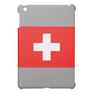 Swiss Flag iPad Mini Cover