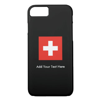 Swiss Flag iPhone 8/7 Case