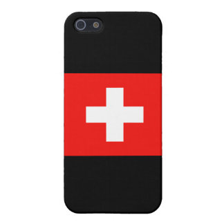 Swiss Flag iPhone SE/5/5s Cover