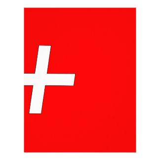 swiss-Flag Letterhead