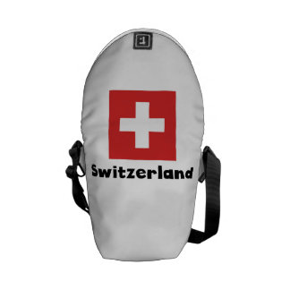 Swiss Flag Messenger Bag