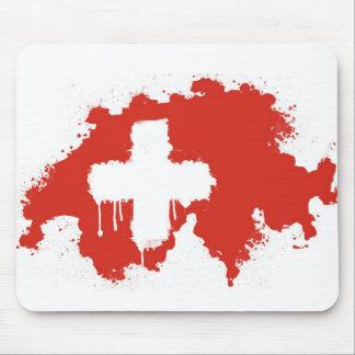 Swiss Flag Mousepad