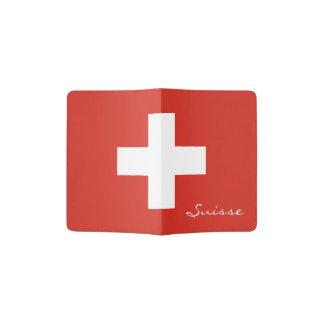 Swiss flag passport holder | Switzerland pride