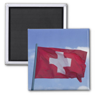 Swiss Flag RF) Magnet