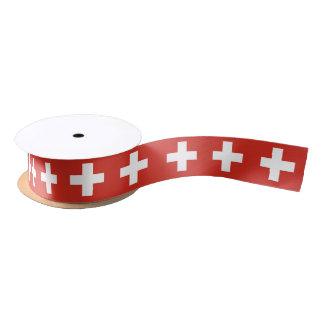 Swiss flag ribbon