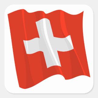 Swiss Flag Stickers