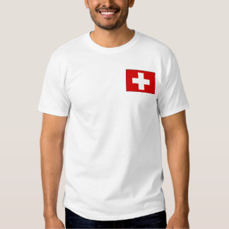 Swiss Flag T-shirts and Gifts