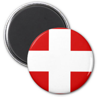 Swiss Flag T-shirts and Gifts Magnet
